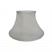 "12"" Twisted Pleat Shade, Cream"