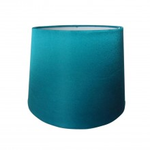 "10"" Silk Shade, Teal"