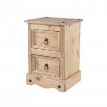 Connor Two Drawer Bedside Chest