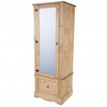 Connor Single Mirror Wardrobe