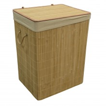 Nat Bamboo L Laundry Bin Natural Large