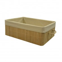 Bamboo Medium Basket, Natural