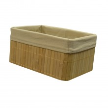 Bamboo Small Basket, Natural