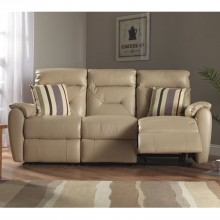 Colorado Three Seater Manual Recliner Sofa