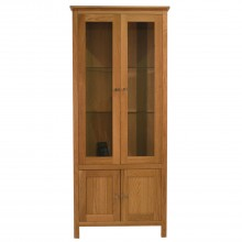 Nimbus Corner Glazed Display Cabinet