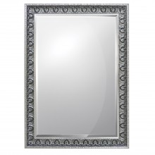 "Midland Reproduction Putney 30""x20"" Mirror Silver Silver Rectangle"