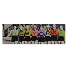 New York Ladies Canvas Multi