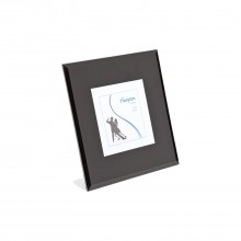 Hampton Frames Noir 6x8 Black Bevel Glass