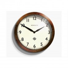 Newgate Clocks Wimbledon Wood Case Clock 45cm Dark Oak Wall