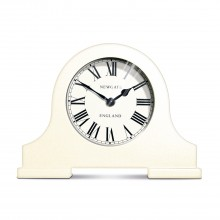 Newgate Clocks The Desk Clock Linen White Table