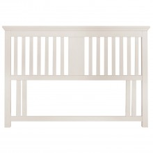 Bampton Double Headboard White Double