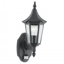 Bel Aire Outdoor Wall Light, Black