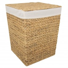 Casa Sqaure Laundry Bin Medium, Natural