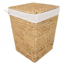 Casa Sqaure Laundry Bin Small, Natural