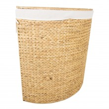Corner Laundry Bin Large, Natural