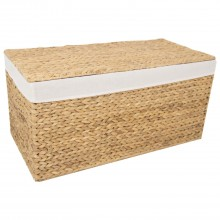 Lidded Hamper Large, Natural