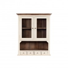 Cotswold Narrow Dresser Top White And Brown Dressertop
