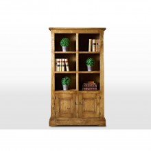 Wood Bros Chatsworth Bookcase With Doors
