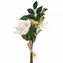 Rose/ Lily Bouquet Beige