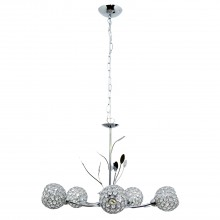 Mirren 5 Light Pendant, Chrome