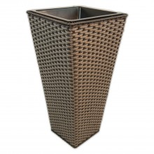 Grey Tapered Planter Medium Medium