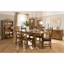 Bordeaux Large Extending Table & Six Chairs Dining Set