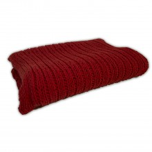 Tinke Knit Throw, Red