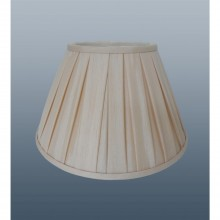 "8"" Enya Box Pleat Shade, Cream"