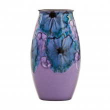 Poole Pottery Manhattan Vase Lilac 26