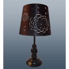 Leona Table Lamp Black Black