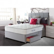 Sealy Chloe Two Drawer Divan Set, Double