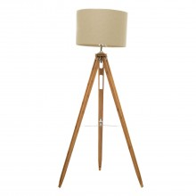 Vista Floor Lamp, Beige