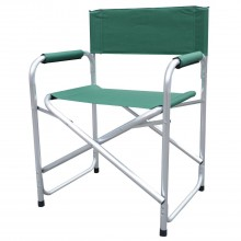 Blackspur Aluminium Directors Chair, Green