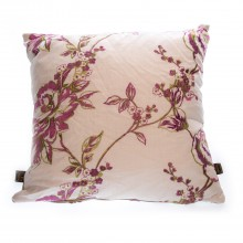 Desiree Embroidered Cushion, Cream