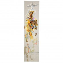 Abstract Lady Canvas Multi 50x200cm
