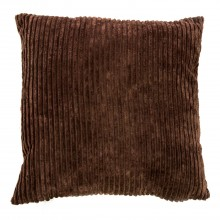 Corduroy Cushion, Mocha