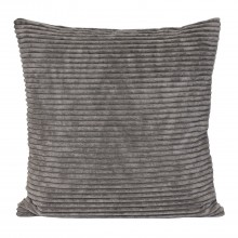 Corduroy Cushion, Grey