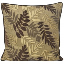 Fern Cushion, Mocha