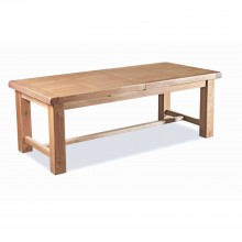 Corndell Fairford Lrg Ext Dining Table Oak Table