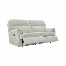 G Plan Watson Three Seater Double Recliner Fabric Sofa