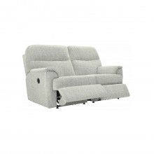 G Plan Watson Two Seater Double  Recliner Fabric Sofa