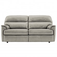 G Plan Watson Three Seater Leather Sofa