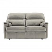 G Plan Watson Two Seater Leather Sofa