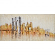 Brooklyn Bridge Oil Painting