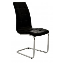 Sierra Dining Chair - Black Black D Chair