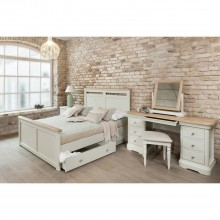 Cherbourg Bed Frame with Storage, King