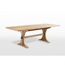 Old Charm Lichfield 6ft Extending Dining Table