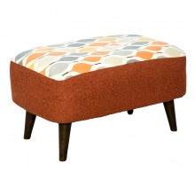 Selborne Cuddler Fabric Footstool