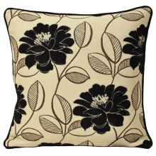 Riva Paoletti Mayflower Cushion, Black