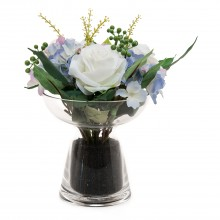 Mix Flower Arrangement In Pot